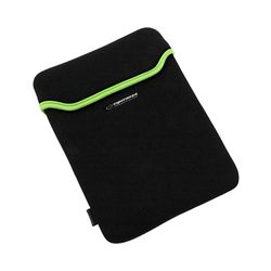 Husă pentru tabletă ESPERANZA 10,1'' ET173G, Negru/Verde, Neopren 3mm