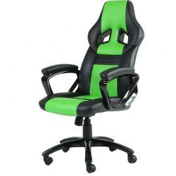 Scaun de gaming INAZA Legion, negru/verde
