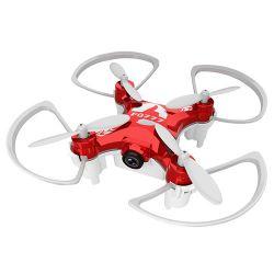 Mini Drona 954D Rosu Cu Camera Video Si Foto 0.3Mp