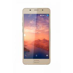 "Telefon KRUGER & MATZ Move 6S  5"" 720x1280 pixels (HD), 2G, 3G, 4G, Dual SIM, Quad core, 1 GB RAM, stocare 8 GB, Auriu, cameră față 2 MP, cameră spate 8 MP, Android 6.0 (Marshmallow)"