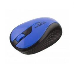 Mouse Wireless Esperanza TM114B 1000DPI Negru-Albastru, 2.4 Ghz
