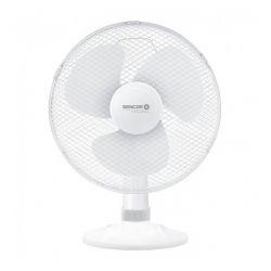 Ventilator de birou SENCOR SFE3020WH, 30 cm, 3 viteze, 40W, alb