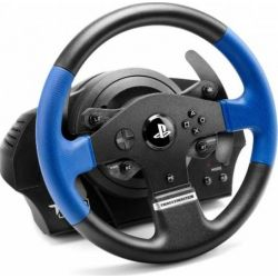 Volan THRUSTMASTER T150 Force Feedback PC, PS3 si PS4, albastru