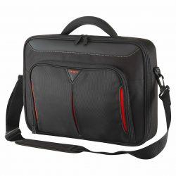 Geanta laptop TARGUS Classic+Clamshell 13-14.1 in/33-35,8cm negru/rosu