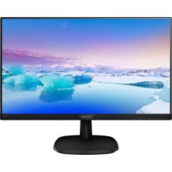 Monitor LED Philips 223V7QHAB/00 21.5 inch 5 ms Negru