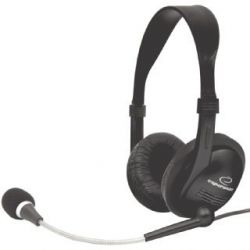 Casti cu microfon ESPERANZA EH115 Negre