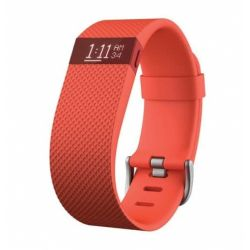 Smartwatch FITBIT Charge HR Wireless Portocaliu Marimea S