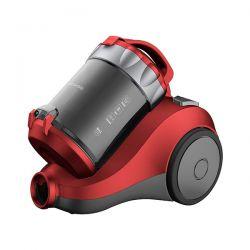 Aspirator fara sac DAEWOO RCC-120R, capacitate 2l, 1400W, rosu