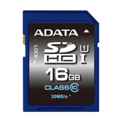 Card de memorie ADATA SDHC Premier 16GB Clasa 10 UHS-I U1