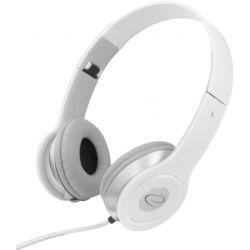 Casti ESPERANZA Techno EH145W stereo cu control volum pe fir Albe