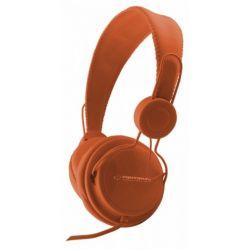 Casti ESPERANZA Sensation EH148O stereo cu control volum pe fir Portocalii