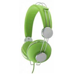 Casti ESPERANZA Macau EH149G stereo cu control volum pe fir Verzi