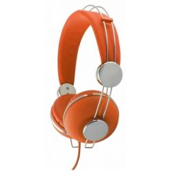 Casti ESPERANZA Macau EH149O stereo cu control volum pe fir Portocalii