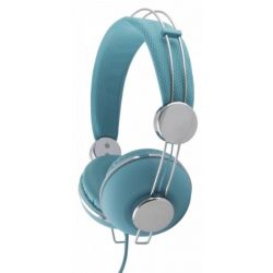 Casti ESPERANZA Macau EH149T stereo cu control volum pe fir Albastre
