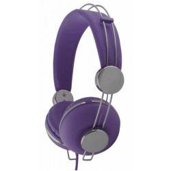 Casti ESPERANZA Macau EH149V stereo cu control volum pe fir Violet
