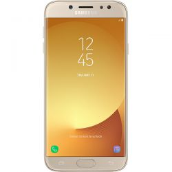 "Telefon SAMSUNG Galaxy J7 2017 5.5"" 1080x1920 pixels (FHD), 2G, 3G, 4G, Dual SIM, Octa core, 3 GB RAM, stocare 16 GB, Auriu, cameră față 13 MP, cameră spate 13 MP, Android 7.1 (Nougat)"