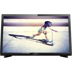 "Televizor LED PHILIPS 22PFT4022/12 22"" (56 cm), Plat, Quad FHD, Negru"