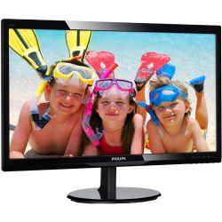 Monitor LED Philips 246V5LDSB/00 24 inch, 1 ms, FullHD, HDMI, Boxe, Negru