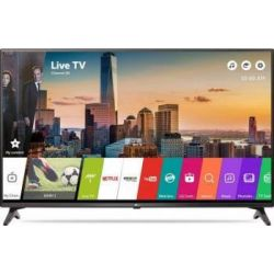 "Televizor LED Smart LG 43LJ614V 43"" (109 cm), Smart TV, Plat, Full HD, WebOS, Gri"