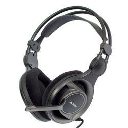 Casti cu microfon A4TECH Gaming HS-100 Negre