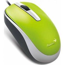 Mouse cu fir GENIUS DX-120, verde, optic, USB