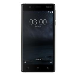 """Telefon NOKIA 3  5"""" 720x1280 pixels (HD), 2G, 3G, 4G, Dual SIM, Quad core, 2 GB RAM, stocare 16 GB, Negru, cameră față 8 MP, cameră spate 8 MP, Android 7.0 (Nougat)"""