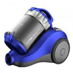 Aspirator fara sac DAEWOO RCC-120L, capacitate 2l, 1400 W, albastru/gri