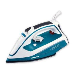 Fier de calcat HEINNER Soft Turquoise HSI-2400TQ, 108 g/min, 2400W, alb/turcoaz