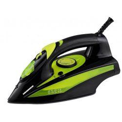 Fier de calcat HEINNER XI-6060-GR, 70g/min, 2400W, negru/verde