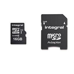 Card memorie INTEGRAL MicroSDHC Ultima Pro 16GB class 10