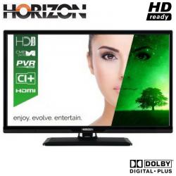 """Televizor LED HORIZON 24HL7100H 24"""" (61 cm), Plat, 1366p, Negru"""