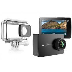 Camera Y2 4K Action + Husa 360 Waterproof Si Kit Utilizare