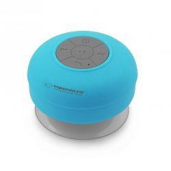Boxa Bluetooth ESPERANZA Sprinkle EP124B rezistenta la apa Albastra