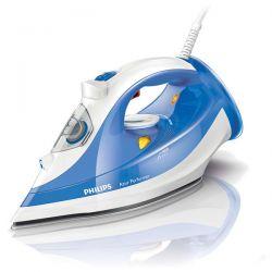 Fier de calcat PHILIPS Azur Performer GC3810/20, 150 g/min, 2400W, alb/albastru