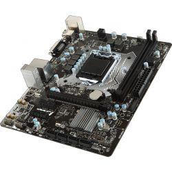 Placa de baza MSI H110M PRO-D, H110, DualDDR4-2133, SATA3, DVI, USB 3.1, mATX