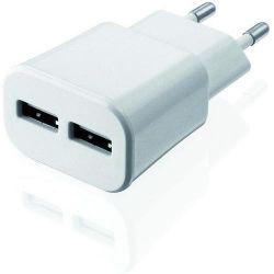 Incarcator I-BOX C-32 Dual USB 2A Alb