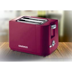 Prajitor de paine DAEWOO DBT40R, 2 felii, 750W, rosu