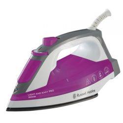 Fier de calcat RUSSELL HOBBS 23591-56, 95 g/min, 2600W, roz/alb