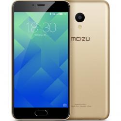 "Telefon MEIZU M5  5.2"" 1280x720 pixels, 2G, 3G, 4G, Dual SIM (Dual Stand-by), Octa core, 3 GB RAM, stocare 32 GB, Auriu, cameră față 5 MP, cameră spate 13 MP, Android 6.0 (Marshmallow)"