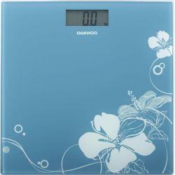 Cantar de persoane electronic DAEWOO DBS210BL, 150kg, albastru