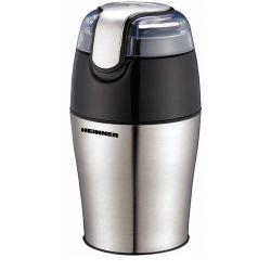 Rasnita de cafea HEINNER HCG-150SS, 150 W, 50 g, Argintiu