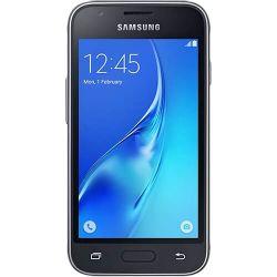 """Telefon SAMSUNG Galaxy J1 Mini 4"""" 480x800 pixels, 2G, 3G, Dual SIM, Quad core, 768 MB RAM, stocare 8 GB, Negru, cameră față 0.3 MP, cameră spate 5 MP, Android 5.1 (Lollipop)"""