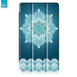 "Husa Book Cover CUBZ pentru Huawei Mediapad T2 7"" Floral"