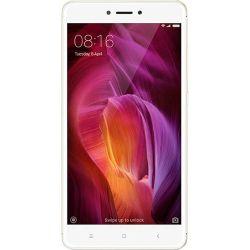 "Telefon XIAOMI Redmi Note 4X  5.5"" 1080x1920 pixels (FHD), 2G, 3G, 4G, Dual SIM, Octa core, 3 GB RAM, stocare 16 GB, Auriu, cameră față 5 MP, cameră spate 13 MP, Android 6.0 (Marshmallow)"