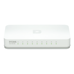 Switch D-LINK 8 x 10/100TX Easy GO-SW-8E