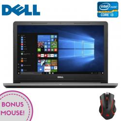 """Laptop DELL Vostro 3568  15.6"""" 1366x768 pixels, Intel® Core™ i3-6006U 2.00 GHz Skylake™, 4 GB DDR4, HDD 1 TB, Intel® HD 520 Preluată din RAM, DVD/CD-RW combo, Gri"""