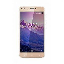 "Telefon KRUGER & MATZ Move 7 5"" 720x1280 pixels (HD), 2G, 3G, 4G, Dual SIM, Quad core, 1 GB RAM, stocare 8 GB, Auriu, cameră față 2 MP, cameră spate 5 MP, Android 7.0 (Nougat)"