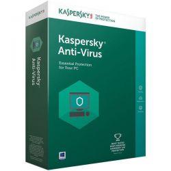 Antivirus KASPERSKY 2018, 3 utilizator, 12 luni