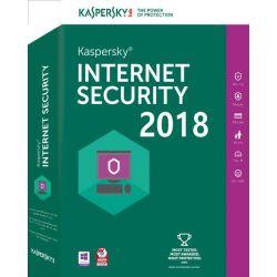 Antivirus KASPERSKY lnternet Security 2018, 3 utilizator, 12 luni