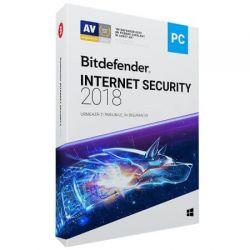 Antivirus BITDEFENDER Internet Security 2018, 1 utilizator, 12 luni